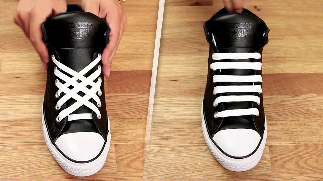 5 Erilaista tapaa sitoa kengännauhat